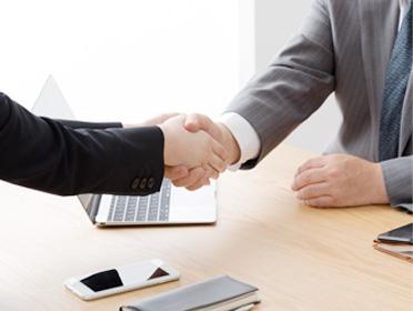 M&A業務における提携先の拡大のイメージ画像