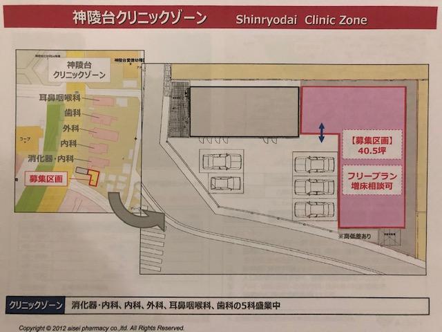 神陵台クリニックゾーンの画像